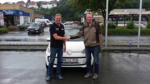 Kalle Gottschalk, Gewinner der Automeister Fahrzeuginspektion (rechts)